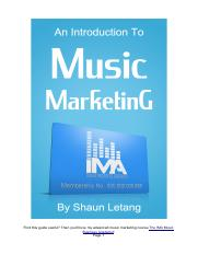 An-Introduction-To-Music-Marketing-By-Shaun-Letang