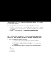 Solutions exam 6