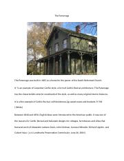 The Parsonage.docx