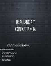 Reactancia y conductancia.pptx