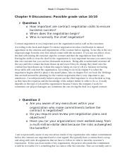 Week 5- Chapter 9 Discussions .docx