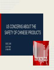 12 US concerns about the safety of Chinese products.pptx