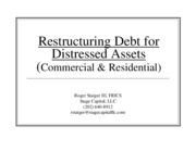 RE_Distressed_Debt_Bankruptcy - Januaray2013