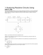circuits solutions with matlab.pdf