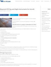 Required VFR Day and Night Instruments for Aircraft – MzeroA.com.pdf