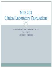 1- MLS 203_Basic Mathematics
