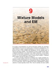 Mixture Models and EM