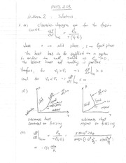 Phys 203 Midterm 2 Solutions.