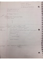 linked list notes continued