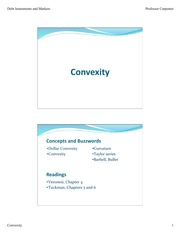 Convexity