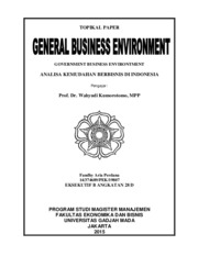 Paper GBE - Government Business Environment-Fandhy