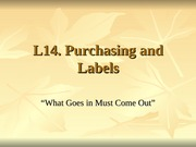 L14 Purchasing and Labels0