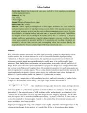 Research report_Format_Journal5