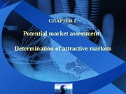 Chapter1 Determination of attractive markets