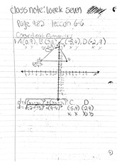 math classnote: Coordinating Translations