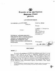 IA1 Erwin L. Magcamit vs. Internal Affairs Service - Philippine Drug Enforcement Agency, as represen