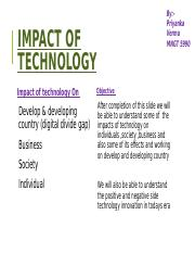 Impact of technology ppt midterm.pptx