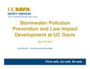 Stormwater Pollution Development Lecture