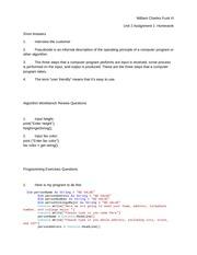 unit 2 assignment 1 homework