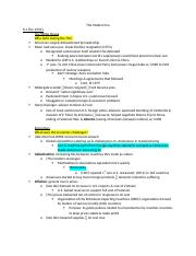 Module Eight Notes.docx
