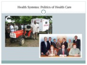 Health Systems - Health Systems Part 2