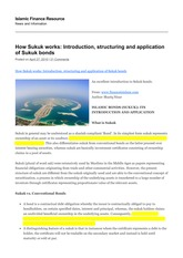 How Sukuk works_ Introduction, structuring and application of Sukuk bonds _ Islamic Finance Resource