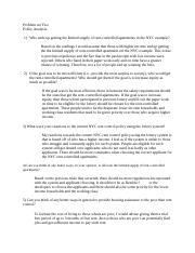 Policy Analysis (Homework 2)