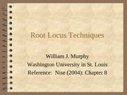 243 Control Systems Root_LocusMurphy