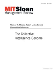 Lecture 8 Required - Article  The Collective Intelligence Genome