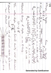 Torque on Dipole Notes