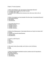 Chapter17 practice questions