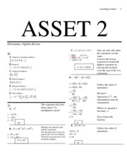 ASSET 2_AnswerKey