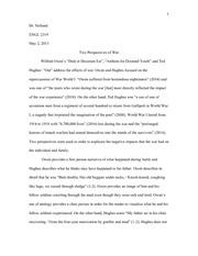 Two Perspectives Essay