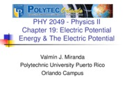 physics electircal chapter 19