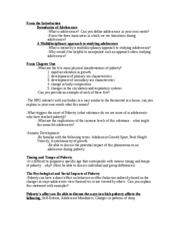 P313 Midterm Study Guide