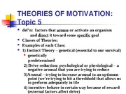 webnoteslecture 5motivation