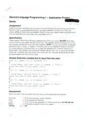 programming application project