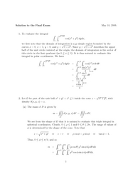 Calculus 3 Solution_to_the_Final_Exam
