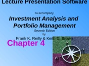 Ch04 Organization and Functioning of Security Markets