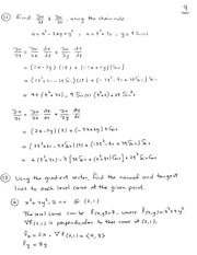 Exam 2 Practice Problems--Solutions--part 2
