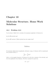 PHYS 206 Chapter 10 Homework Solutions