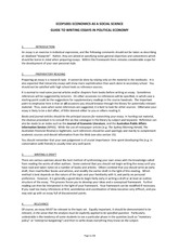 Student guide to writing essays in social science