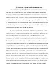 greasy lake symbolism essay outline trying to be a phony leads 5 pages greasy lake symbolism essay outline