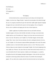 Pigeon Feathers Essay