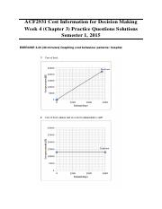 Week 4 (Chapter 3) Practice Questions Solutions
