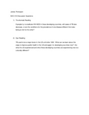 SOC410- Discussion Questions 11-18-10