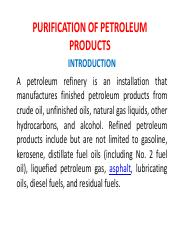 9th%20PURIFICATION%20OF%20PETROLEUM%20PRODUCTS.pdf