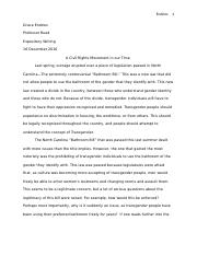 writ essay final dunia zawideh writ jennifer foster  other related materials
