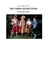 The Three Musketeers Treasury of Children's Classics TEXT