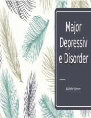 Major Depressive Disorder Project.pptx
